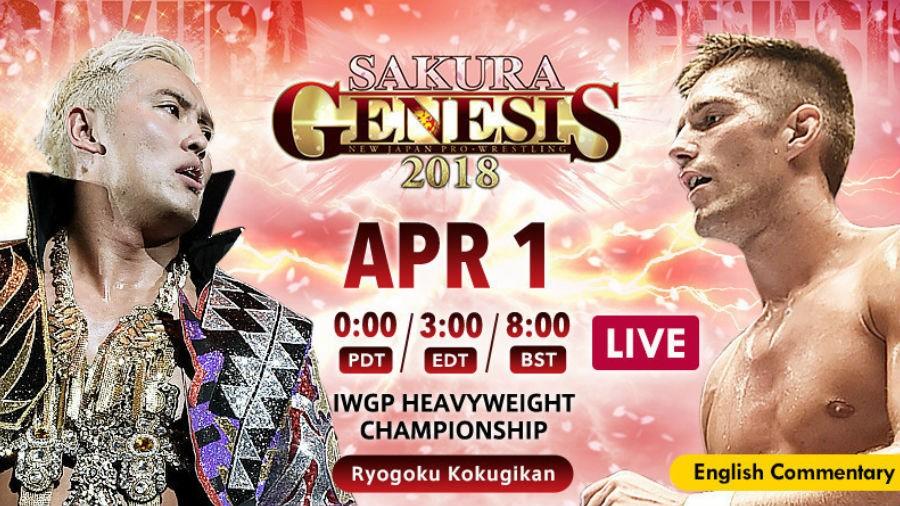 A Ras De Lona #187: NJPW Sakura Genesis 2018