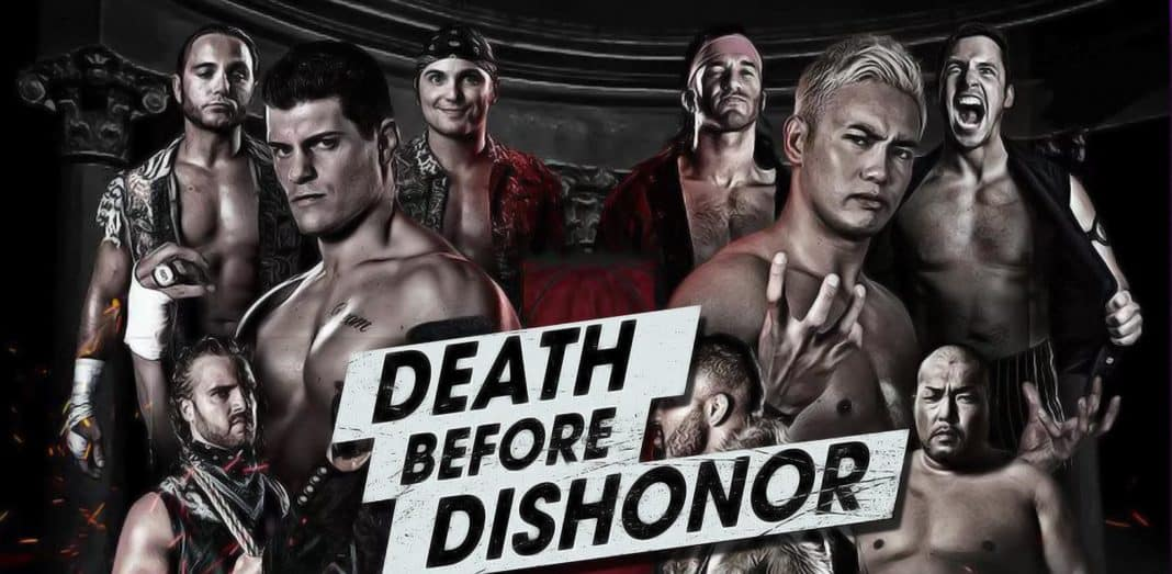A Ras De Lona #217: ROH Death Before Dishonor 2018