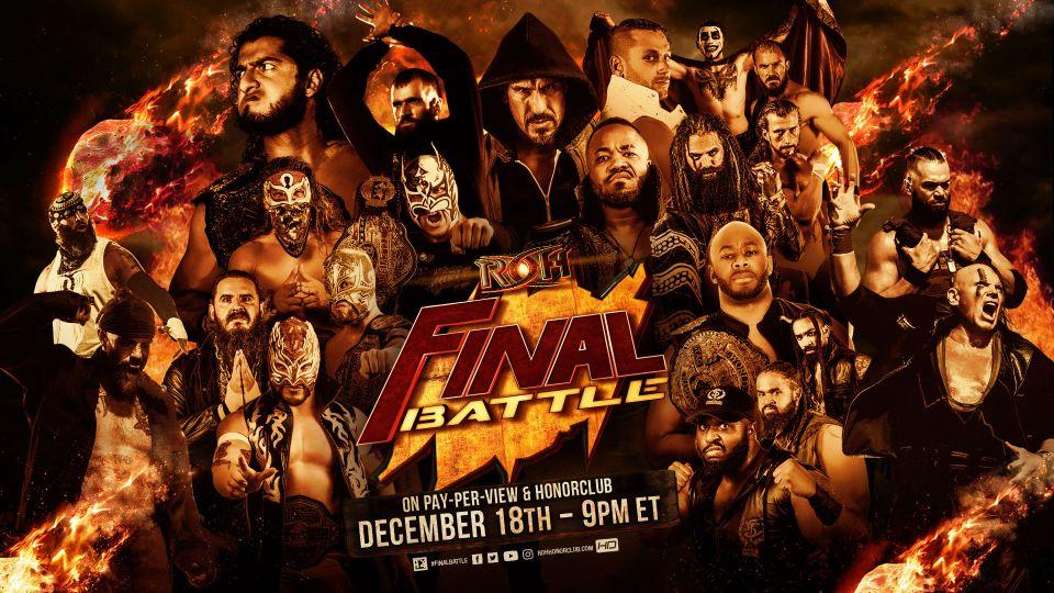 A Ras De Lona #303: ROH Final Battle 2020
