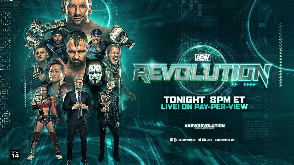 A Ras De Lona #314: AEW Revolution 2021