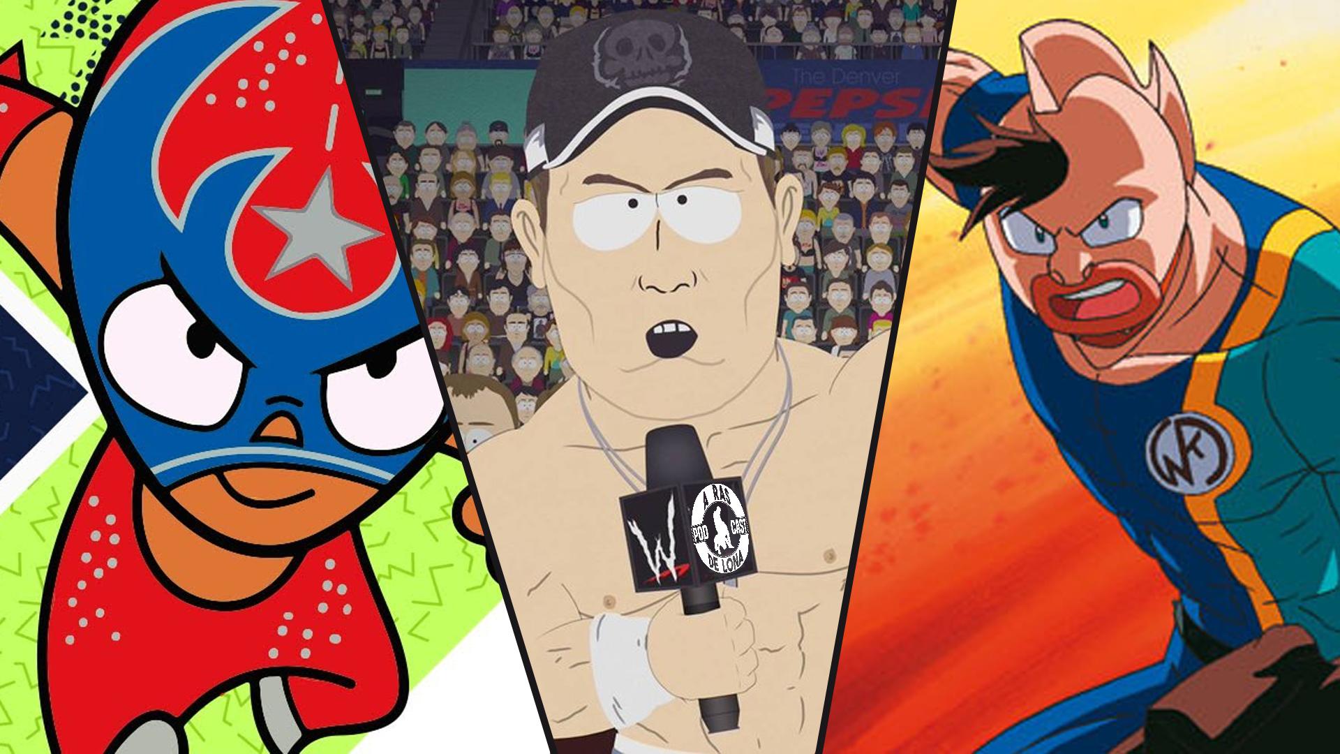 Off Topic 16/07/21: El wrestling/lucha libre en la animación (con Chucho Calderón)