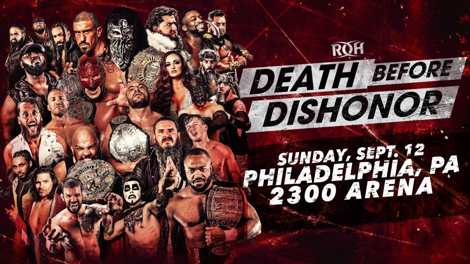 A Ras De Lona #339: ROH Death Before Dishonor 2021